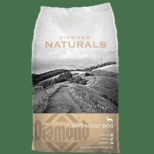 ALIMENTO PARA PERROS DIAMOND NATURALS LIGHT ADULT
